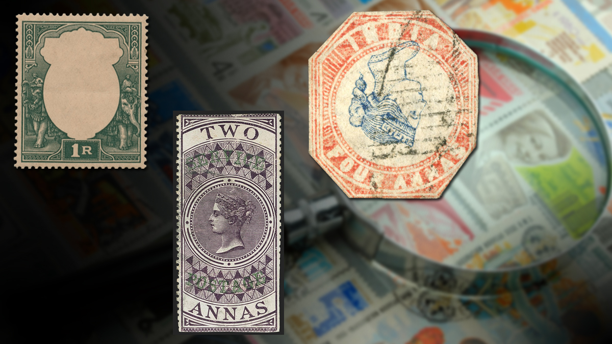 Most Valuable Postage Stamps of British India