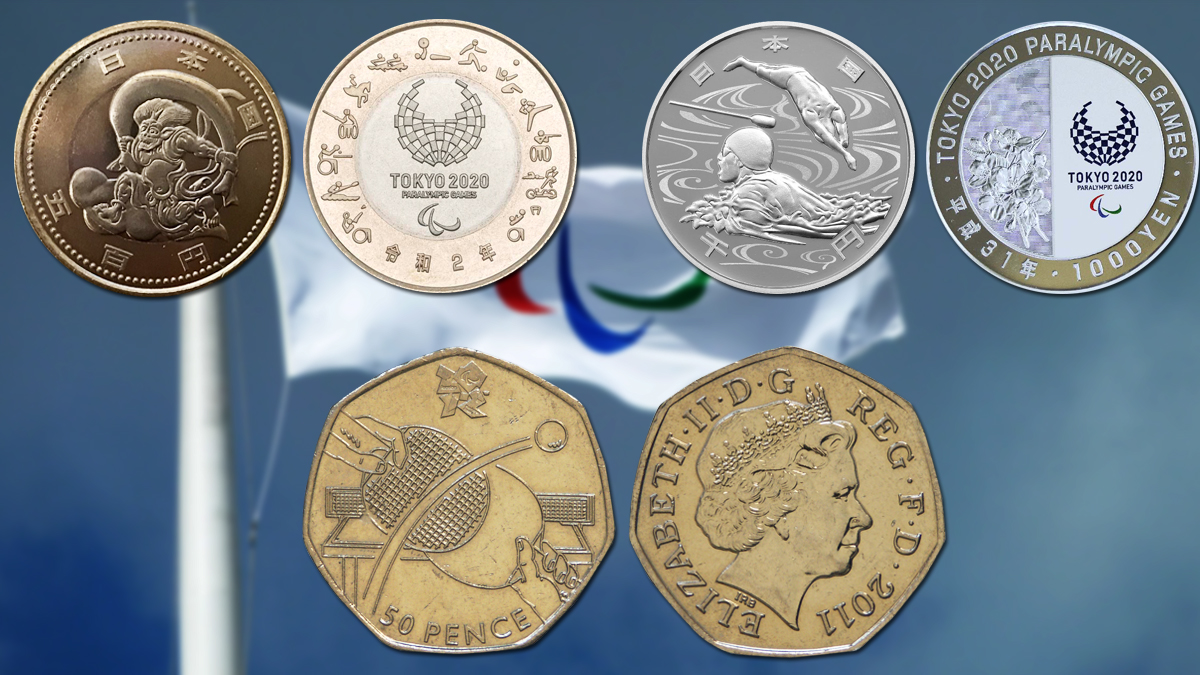 paralympic coins