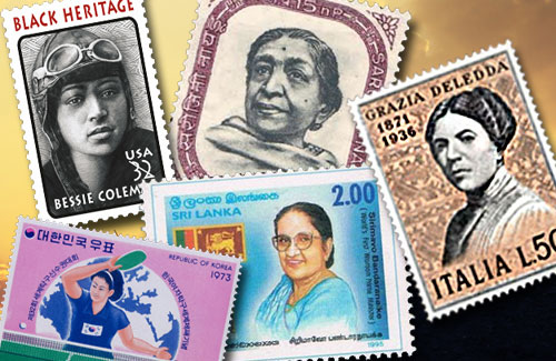 Celebrating-Womanhood-on-Stamps-of-the-World