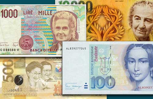 Women-on-Banknotes!