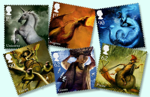 Young-Philatelist:-Mythical-Creatures-on-Stamps